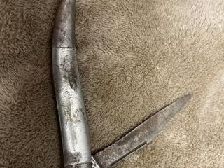 Foldable stainless steel knife  some rust