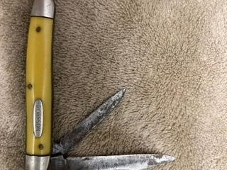 Robeson 2 blade pocket knife  some rust