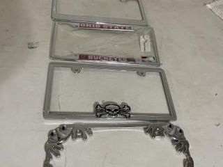Miscellaneous license plate frames 4