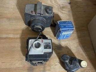 Vintage cameras and miscellaneous