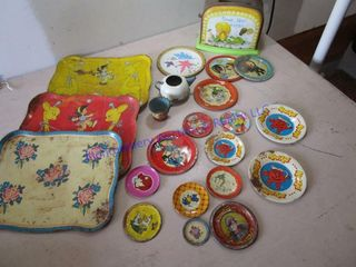 TIN lITHO DISHES