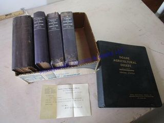 ANTIQUE AG YEARBOOKS