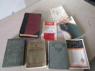 ANTIQUE MEDICAl BOOKS