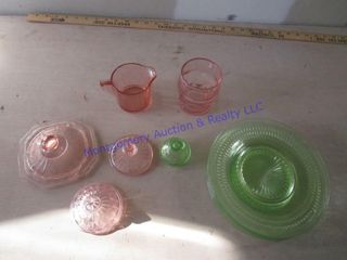 DEPRESSION GlASS