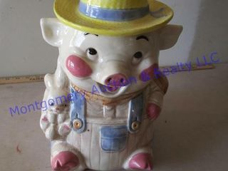 PIG COOKIE JAR