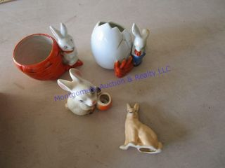 RABBIT FIGURINES