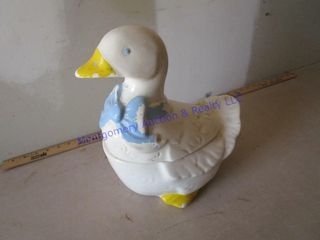 GOOSE COOKIE JAR