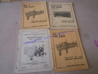 MASSEY HARRIS MANUAlS