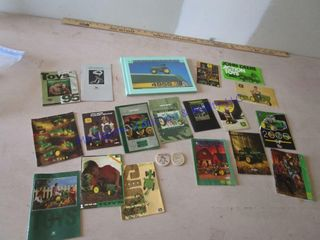 JOHN DEERE TOY CATAlOGS