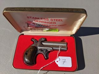 American Derringer  410 and 45 70 Pistol