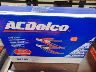 AC Delco 12ft 10ga jump cables