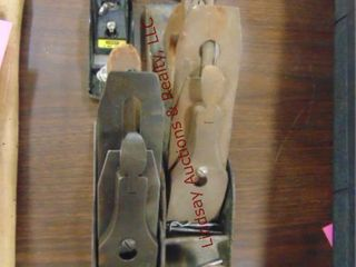 4 Stanley hand wood planes