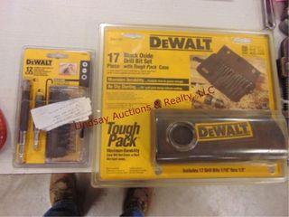 NIP Dewalt drill bit   drill driver set