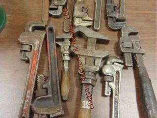 13 pipe monkey wrenches
