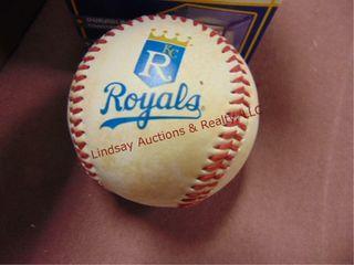2 baseball cases   Royals baseball