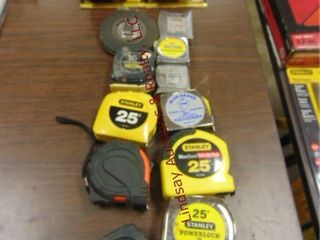 12 tape measures