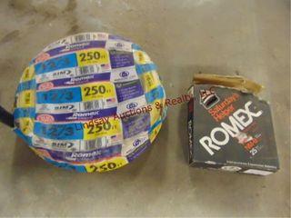 Romex wire  Romex 250ft 12 3 wire