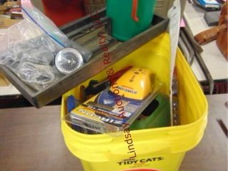 Bucket of misc tools SEE PICS