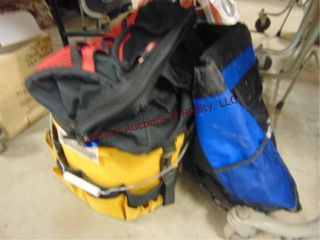 Tool bucket w  pouch   tool bags