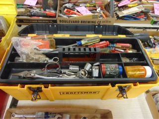 Craftsman tool box w  Craftsman tools   other
