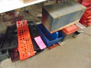 Group plastic tool trays   tool box
