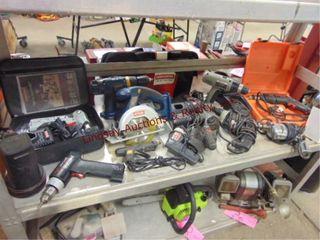 11 pwr tools  Craftsman  Ryobi  Skil  Porter Cable