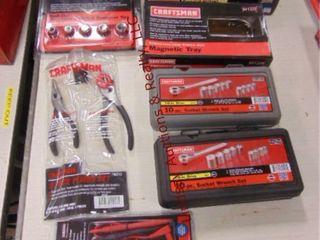 Group  7pc Craftsman tools SEE PICS