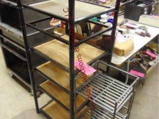 2 Shelves  22 w x19 d x54 h     12 w x 11 d x32 h