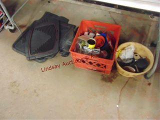 Group  floor mats  trailer wiring kit  funnels
