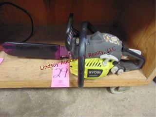 Ryobi RY3714 chainsaw