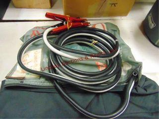 Set jump cables   Mopar carry bag