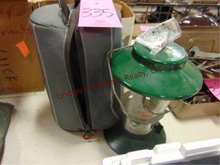 Coleman propane lantern w  case