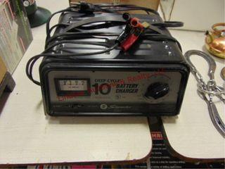 Schumacher 10amp battery charger w  timer