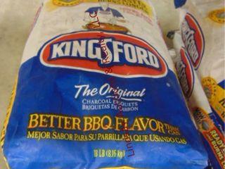 3  18lb bags of Kingsford Charcoal