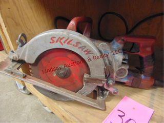 Skil saw worm drive