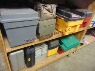 13 tool boxes toolbags