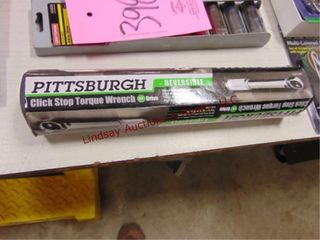 Pittsburg 1 4 drive click torque wrench