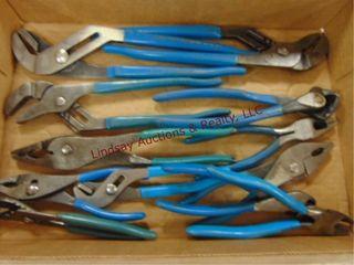 12pc set channel lock pliers