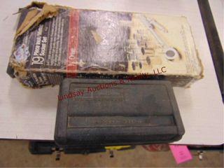 Craftsman 1 4 drive sockets   19pc 3 8 drive