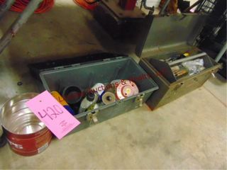 3 tool boxes WITH contents SEE PICS