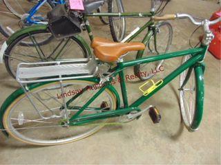 Green Globe retro bicycle
