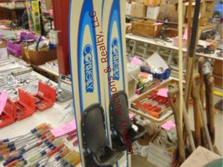Pair of Connelly water skis