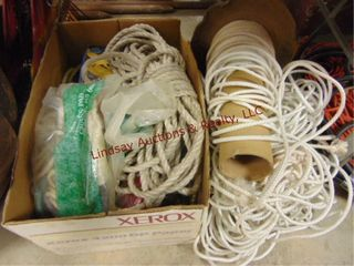 Group of rope  straps   other
