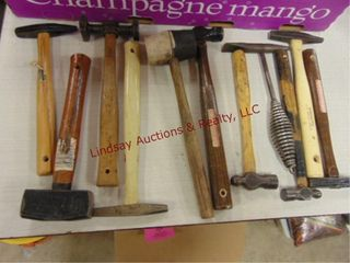 11 various hammers