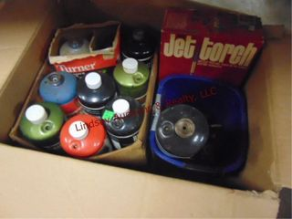 Box of propane fuel  torch tips  may be empty