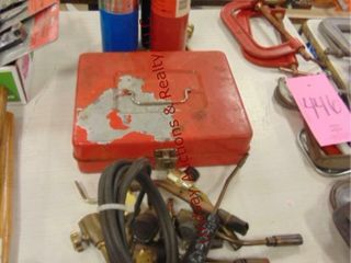 Propane fuel  may be empty  torch tips