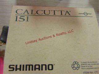 2 reels  Schimano Calcutta  151   251