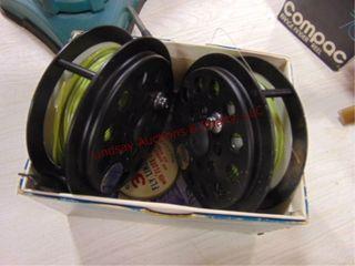 2 Cortland 333 fly fish reels