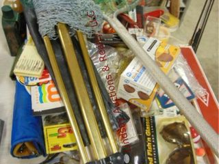 large lot of fishing items  lures  filet knife