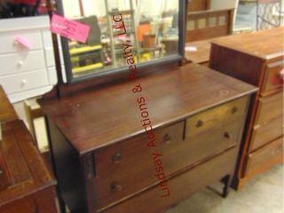 4 drawer dresser w  mirror 44  x 22  x 34